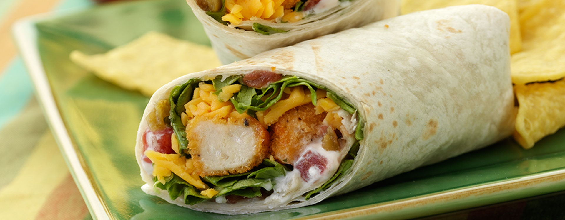 Hero - Spicy Crunchy Chicken Wraps