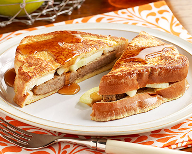 Hero - Sausage and Apple Stuffed French Toast