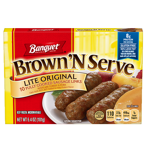 Brown 'N Serve Lite Original Sausage Links