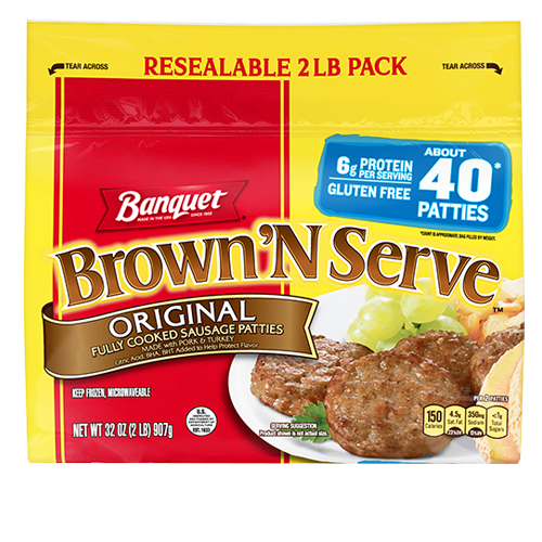 Brown 'N Serve Original Patties
