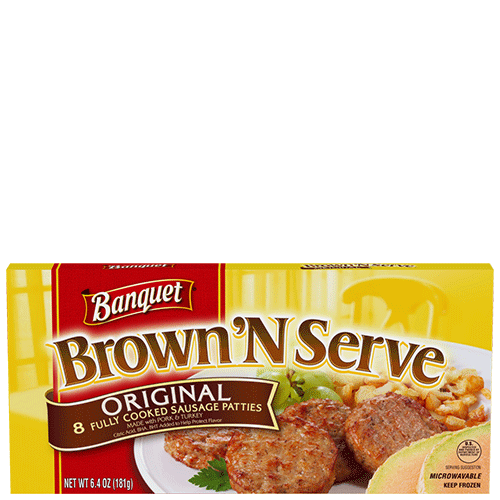 Brown 'N Serve Original Sausage Patties