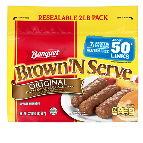 Brown 'N Serve Original Links