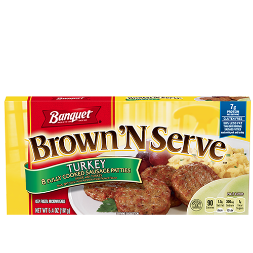 Brown 'N Serve Turkey Sausage Patties