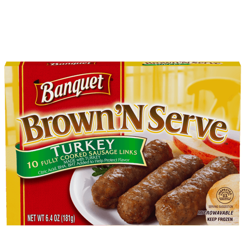 Brown 'N Serve Turkey Sausage Links
