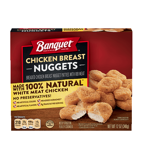 Chicken Breast Nuggets (Box)
