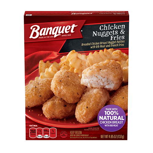 Banquet Chicken Fried Chicken Meal