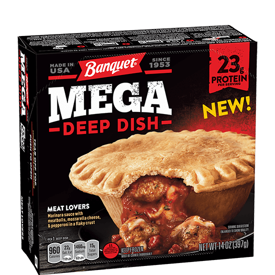 Meat Lovers Deep Dish   Banquet