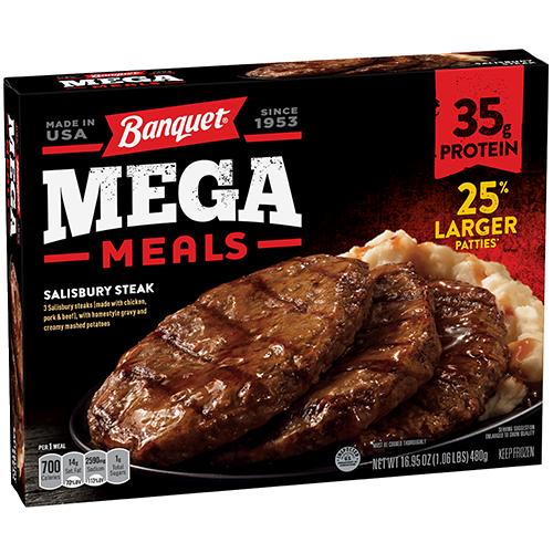 Salisbury Steak   Banquet